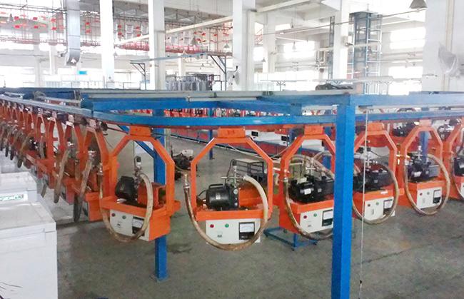 Vacuum suspension line