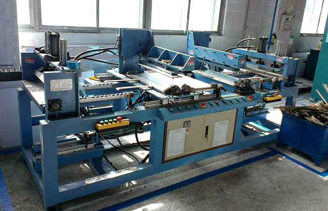 Turnover plate bending machine 1