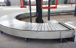 Vacuum chain plate line