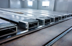 Chain plate line